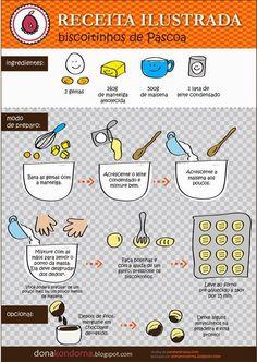 Receitas de Mariazinha: Biscoitinhos de Páscoa.