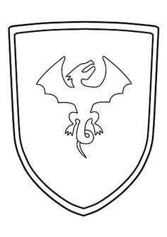 make your own coat of arms | ritter | ritterschild, rittergeburtstag und wappen vorlage