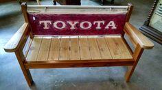 Toyota tailgate bench DIY