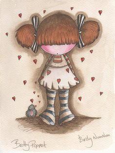 Betty Poppet  http://www.michellecampbellart.blogspot.co.uk/