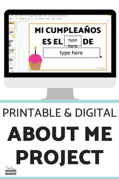 This is a great back to school activity for getting to know your Spanish students! Print and go or post and go worksheets turn into classroom decor with these Todo Sobre Mi banners! Once students are done, hang for a classroom display, bulletin board, or door decor! The digital option makes a great presentation for introductions and icebreakers. Your middle and high school students will love putting a personal touch on their space!