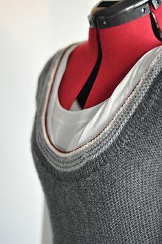 "Grey Area - ""Testknit"": Put Together pattern knit by PetraMar, via Ravelry"