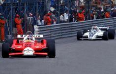 Alfa Romeo 179 Patrick Depallier e Brabham Nelson Piquet Gp Montecarlo 1980 (? Monaco Grand Prix, Formula E, Automobile, Indy Cars, Racing Team, Motogp, Nascar, Race Cars, History