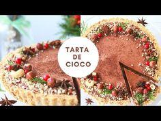 Tartă de ciocolată Fără Coacere - Raw Vegana! - YouTube Vegan Sweets, Sweets Recipes, Raw Vegan, Acai Bowl, Cheesecake, Deserts, Breakfast, Youtube, Food