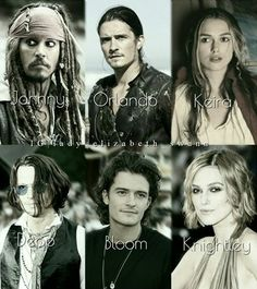 Cast of Pirates of the Caribbean