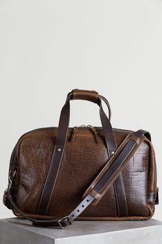 af3aa676f6 Legacy American Bison Leather Weekender Duffel Bag