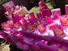 Sleeping Beauty Princess Party #sleepingbeauty #princessparty