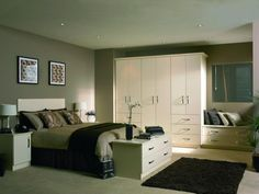 #mocha #gloss #wardrobes #decor #design #furniture #interior #living #bedroom #style #stylish #colours