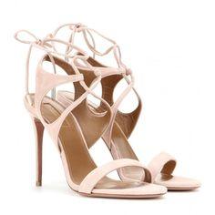 Aquazzura Colette Suede Sandals (4.935 HRK) ❤ liked on Polyvore featuring shoes, sandals, heels, pumps, pink, pink heel sandals, heeled sandals, suede sandals, aquazzura shoes and suede leather shoes