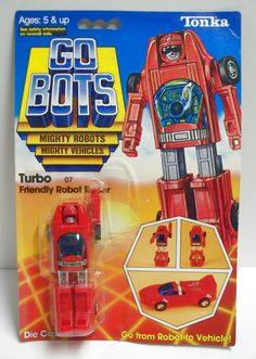 Final Frontier Toys Turbo Friendly Robot Racer GoBots MOC C-8.5+