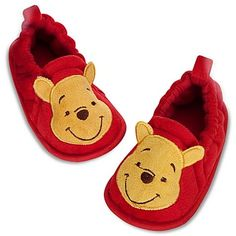 New Disney Store Baby Winnie the Pooh Costume Shoes 12 18 24