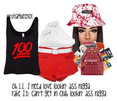 """"""""""" by royalqueen01 ❤ liked on Polyvore featuring M&Co and NIKE"""