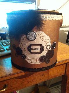 Boîte de secours pour maman au bord de la crise de nerf! Inspiration steampunk