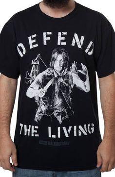 Walking Dead Darryl Dixon T-Shirt: The Walking Dead Mens T-shirt