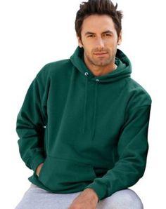 Hanes Ultimate Cotton® Pullover Adult Hoodie Sweatshirt