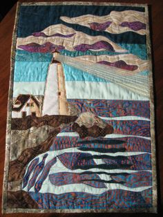 The Lighthouse by QuiltGumbo on Etsy, $50.00