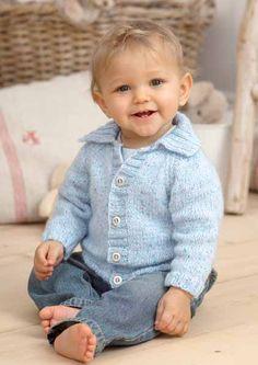 Snuggly Sirdar Jacket - Free Knitting Pattern