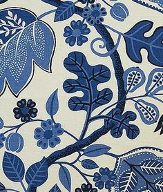 The Pink Pagoda: Blue and White Monday Budget Friendly Fabric from The Glam Pad Blue And White Fabric, Blue Fabric, White Fabrics, Floral Fabric, Pillow Fabric, Drapery Fabric, Pillows, Lumbar Pillow, Textiles