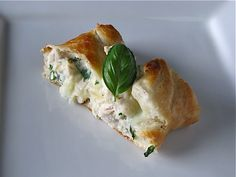 Creamy Chicken Roll Ups: super quick and easy!