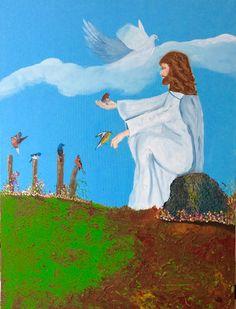 Jezus en de vogels