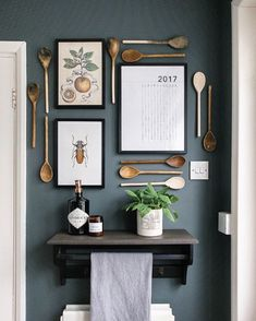 Interior 15 Ways To Decorate Walls Without Picture Frames - Rock My Style Küchen Design, Layout Design, Interior Design, Design Ideas, Home Decor Kitchen, New Kitchen, Kitchen Sink, Art For The Kitchen, Kitchen Wall Decorations