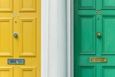 Having a bold front door color is an excellent way to change up the look of your home. In this article, we'll provide you with some design inspiration on some of the best front door colors to choose from. Noisy Neighbors, Your Neighbors, Millionaire Next Door, Love Your Neighbour, Composite Door, Declutter, Organize, Tall Cabinet Storage, New Homes