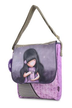 10% OFF Your First Order, FREE UK Delivery. www.schoolbagstation.com Gorjuss Tote Shoulder Bag - We Can All Shine