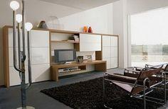 Italian Furniture Modern Living Room Storage Design