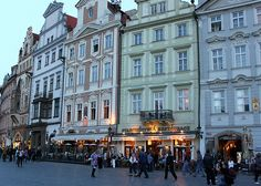 Prague, Czech Republic  I have to go here someday. :)