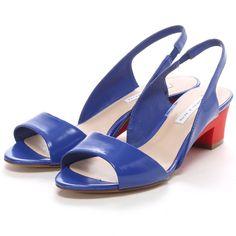 チャールズ & キース CHARLES & KEITH Slingback(Blue) -「買ってから選ぶ。」靴とファッションの通販サイト ロコンド