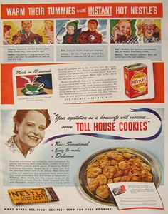 The Chocolate chip cookie is the most popular kind of cookie in America. 7 billion chocolate chips are consumed annually in the United States. That equals over 19.2 million cookies a day. Spring break might be a wonderful time to introduce your children to the original Toll House Cookie.