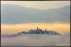 Living above the clouds... Dense fog covering the Ljubljansko Barje, Slovenia by Marko Korošec on 500px.