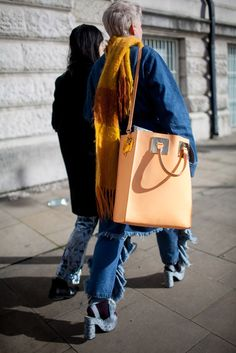 They Are Wearing: London Fashion Week Fall 2015 - Slideshow