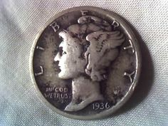 I have several of these. 6 silver mercury dimes great old coins all in by DrewsCollectibles, $18.99