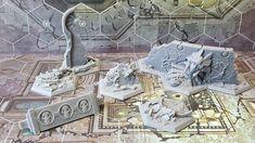 Fantasy Miniatures, Custom Action Figures, Warhammer 40000, Toy Soldiers, Underworld, Board Games, Miniature Wargames, Scenery, Geek Stuff