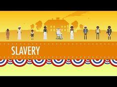 Week Slavery - Crash Course US History (+playlist) cc cycle 3 Study History, Us History, Black History, American History, Crash Course World History, Cc Cycle 3, 5th Grade Social Studies, Teaching History, History Education