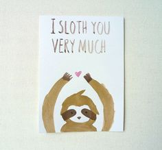 sloth cards - Google Search
