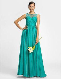 Chiffon, cor jade, lindo!