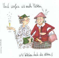 Und werfen wir auch Falten... © Barbara Freundlieb.