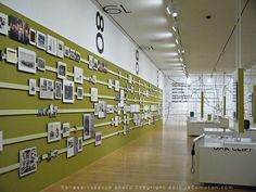 Timeline Side of the Gallery - Photograph Copyright 2013 by JRCompton. All Rights Reserved. No Reproduction in Any Medium Without Specific Written Permission.