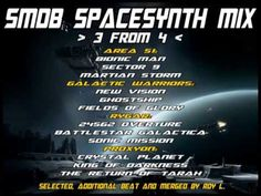 SMDB SpaceSynth Mix - 3 from 4 (Area 51, Galactic Warriors, Rygar, Proxyon)