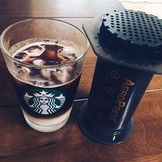 #오늘의커피#커피기록#aeropress#cafeaulait #starbucks#houseblend#coffee#커피#에어로프레스#스타벅스#카페인#만세#이제#공부하자#hanginthere#버티자 http://ift.tt/1Vbg53z