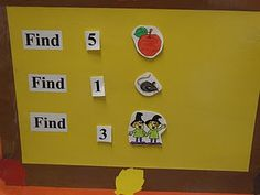 Sensory table idea-Great for number recognition skills-Could also use number words.