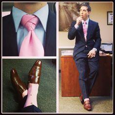 Pleasant Banker Suit