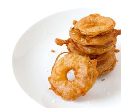 Fried Apples – A Recipe for Beer Battered Apple Slices #inspiredtaste