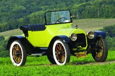 Chartreuse Cruiser - 1915 Buick Model C-36 Roadster | Hemmings Motor News