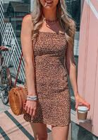 Leopard Sleeveless Bodycon Dress without Necklace . . Shop for cute dresses, find discounts, coupon codes, promo on dresses! #cheapdresses #fashiondiscount #cutedress #dresses #outfits Casual T Shirt Dress, Casual Summer Dresses, Summer Dresses For Women, Cheap Dresses, Cute Dresses, Cute Outfits, Beautiful Dresses, New Mode, Club Party Dresses