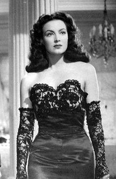 """Once, while traveling through Europe, Maria Felix found herself in the company of a man who told her: """"Maria, seeing you here so fair and beautiful, I can hardly believe you are Mexican."""" Maria bothered, but calm, replied: """"Well, hearing you speak about such idiotic concepts, I can hardly believe you are European."""" MariaFelix #modcloth #styleicon"""