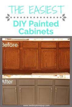 Easy DIY Painted Bathroom Cabinets The easiest DIY painted cabinets! Baño Home Depot, Home Depot Bathroom, Cheap Bathroom Remodel, Cheap Bathrooms, Bathroom Ideas, Bathroom Makeovers, Bathroom Vanities, Bathroom Renovations, Bathroom Trends