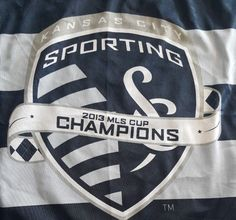 best service dc8c6 2c36c Sporting KC 2013 MLS Cup Champion Banner Flag Major League Soccer Kansas  City MO  Unbranded